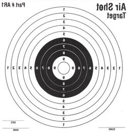 100 Pack - Air Shot Paper Targets - 5.5 By 5.5 - Fits Gamo C