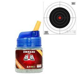 1000 GLOW IN THE DARK ukarms 6mm .12g Airsoft BBs Pistol Gun