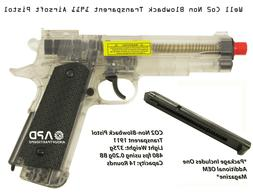 WELL 1911 Airsoft Co2 Non-Blowback Pistol  Extra Magazine Ve