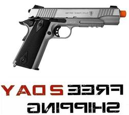 New Elite Force 1911 Tac CO2 Semi Auto Metal Blowback Airsof