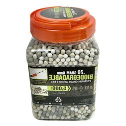 Black Ops .20 g Airsoft BBs - 6mm - 5,000 Triple Polished Co