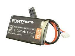7.4v 1500 mAh 20C Airsoft LiPO PEQ Box Battery