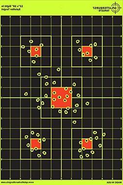 25 Pack - 12 x 18 inch Sight In - Splatterburst Shooting Tar