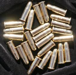 25 Replica Bullets - Colt Denix Gun Revolver Dummy Ammo Cart