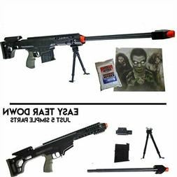 *260 FPS* DARK OPS SNIPER PACKAGE - Airsoft BB Rilfe Gun w/