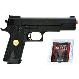 275 FPS Strong Airsoft Spring Pistol Hand Gun P169 FREE BBs