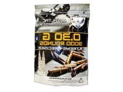 MetalTac 3000 Bag .30g 6mm BBs Ammo Pellets 0.3g Premium Qua