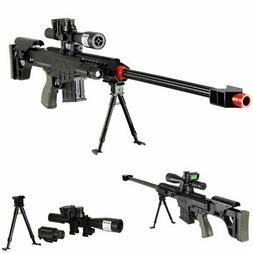 315 FPS Airsoft Sniper Rifle Gun wScope and BBs