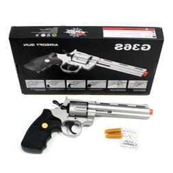 357 MAGNUM REVOLVER FULL SIZE SPRING AIRSOFT HAND GUN PISTOL
