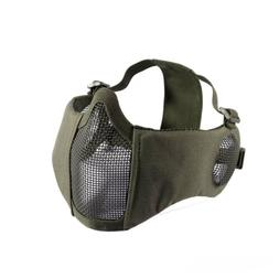 OneTigris Tactical Foldable Half Face Mesh Mask w/ Ear Prote