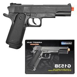 """UK ARMS 8.25"""" 1911 Replica Airsoft Pistol Handgun Gun w/BBs"""
