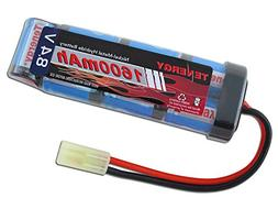 8.4V 1600mAh NiMH Flat Battery Pack with Mini Tamiya Female