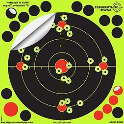 50 Pack -8 Reactive Splatter Gun Rifle Pistol Shooting Targe