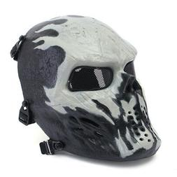 Airsoft Paintball Tactical Face Mask Combat Skull Skeleton G