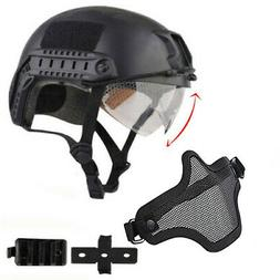 Military Tactical Airsoft Paintball SWAT Protective FAST Hel