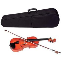 Maxam Full - Size Violin with Case & Bow