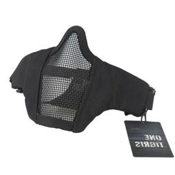 "OneTigris 4.5"" Tactical Foldable Half Face Mask Protective M"