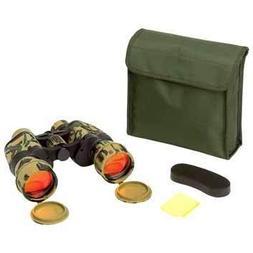 OpSwiss SPOPCAMO Camouflage Binoculars, 10 by 50'