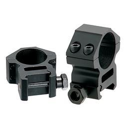 AccuShot Picatinny/Weaver Medium Profile 2-piece 1-inch Ring