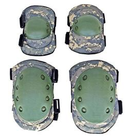 Advanced Elbow and Knee Pads ACU Digital Camo Water Resistan