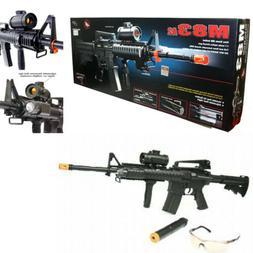 AEG M16 AUTOMATIC Electric Airsoft Gun Assault Rifle M83A2 M