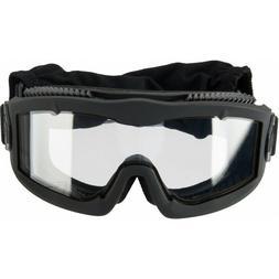 Lancer Tactical AERO Protective UV HEC Black Airsoft Goggles