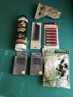 Air Soft Bbs, Loading Accessories, And Magazines