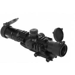 AIM Sports Airsoft 1.5-4 X 30 Dual Illuminated Scope w/ Exte