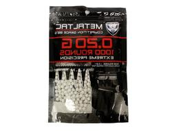 MetalTac Airsoft BBs 0.20 g 1,000 Round 6mm BBs Airsoft Pell