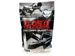 MetalTac Airsoft BBs 5000 Bag .20g 6mm 0.2g for Airsoft Guns