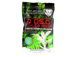 MetalTac Airsoft BBs Bio-Degradable .20g Perfect Grade High
