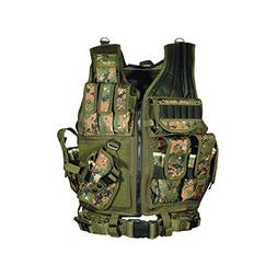 UTG Airsoft Deluxe Tactical Vest Digital
