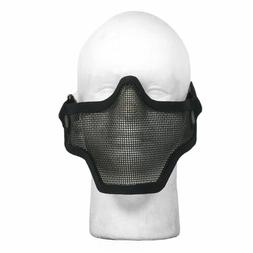 Airsoft Face Mask Half Metal Wired Steel Mesh Protection Gea