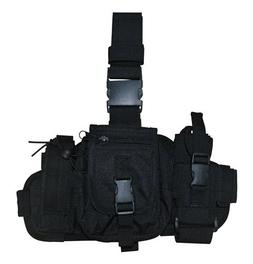 Airsoft / Hunting / Paintball Black MOLLE Gear Utility Leg R