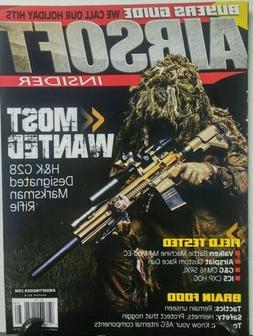 Airsoft Insider Winter 2016 Most Wanted Marksman Rifle Guns