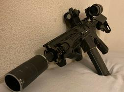 Airsoft M4 with Custom Gearbox and Accessories  U.D