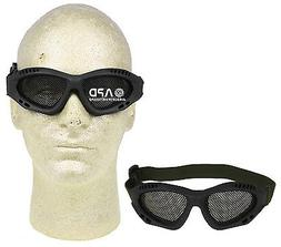 Airsoft TOP Metal Mesh Wire Adjustable Shooting Goggles Glas