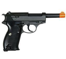 UK Arms P38 Walther WWII Airsoft Gun Metal G21 Black Spring