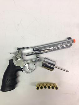 Airsoft Pistol GBB HFC 6 inch Barrel Gas Revolver Airsoft Gu