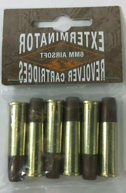 Airsoft Revolver Cartridges for Standard 6mm Black Ops Exter