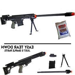 Airsoft Sniper Rifle Barrett M82A1 Gun M107 Tactical Pistol