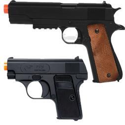 AIRSOFT Double Eagle Spring Pistols P361 P328 Hand Gun Compa