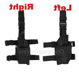 Airsoft Tactical Pistol Drop Leg Holster For Left/ Right Han