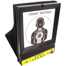 BBTac Airsoft Target with Trap Net Catcher, Stand and Paper
