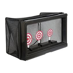 BBTac Airsoft Target with Auto-Reset, Stand, Trap Net Catche