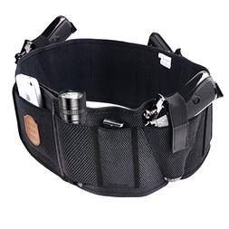 Ankle Holster For Concealed Carry Pistol with Magazine Pouch