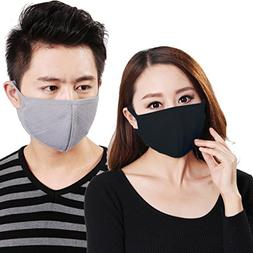 Women Men Outdoor 3 Pcs Anti Dust Anti-fog 3D Comfort Breath