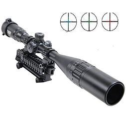 UUQ® 6-24X50mm AOL Hunting Rifle Scope W front AO adjustmen