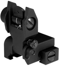 AIM Sports Inc AR Low Profile Rear Flip Up Sight MT201