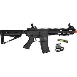 Valken ASL KILO M4 6mm AEG Airsoft Rifle - Black w/Battery &
